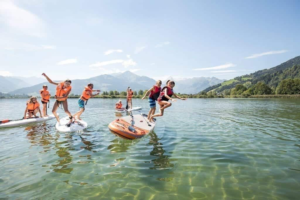 Leisure centre & public beaches in Zell am See